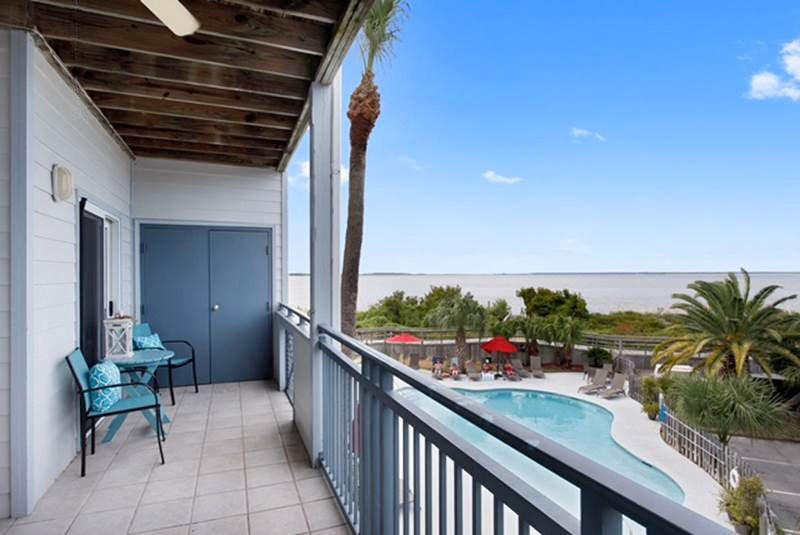 Savannah Beach & Racquet Club Condos - Unit C202 - Water Front - Swimming Pool - Image 1 - Tybee Island - rentals