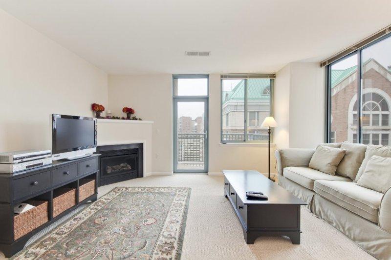 Furnished 2-Bedroom Condo at N Glebe Rd & N Vermont St Arlington - Image 1 - Arlington - rentals
