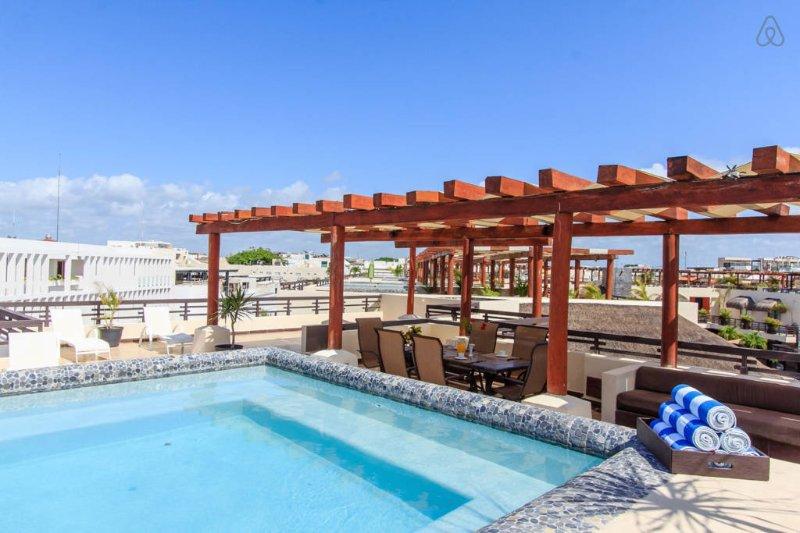 Aldea Thai penthouse Mamitas - Image 1 - Playa del Carmen - rentals