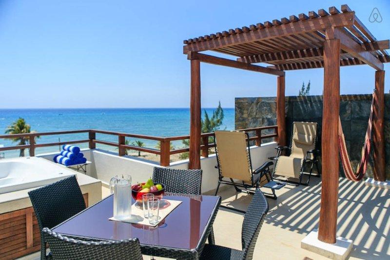 Casa del Mar Penthouse Ocean View - Image 1 - Playa del Carmen - rentals