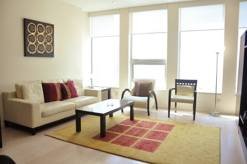 Furnished 2-Bedroom Apartment at Wilshire Blvd & S Beaudry Ave Los Angeles - Image 1 - Los Angeles - rentals