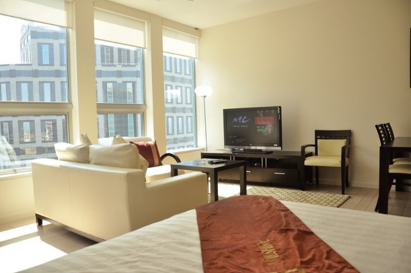 Furnished Studio Apartment at Wilshire Blvd & S Beaudry Ave Los Angeles - Image 1 - Los Angeles - rentals
