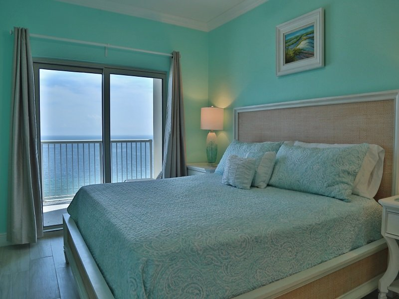 Master - King - Crystal Tower 1602 - Gulf Oriented/Gulf View - Gulf Shores - rentals
