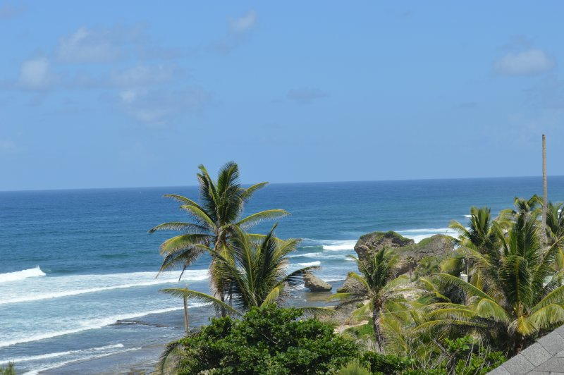 Photo taken from the loft bedroom window - Orange Sunrise Beach House- Bathsheba - Bathsheba - rentals