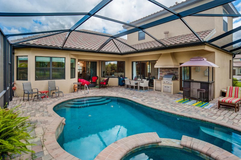 Available for 2017 Season! - 4/3 Home Pool & Spa - Image 1 - Naples - rentals