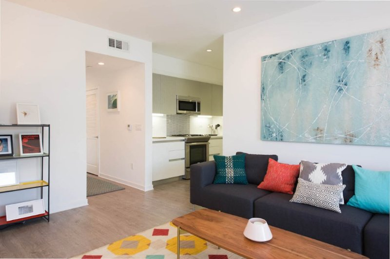 Furnished 2-Bedroom Apartment at Idaho Ave & Stoner Ave Los Angeles - Image 1 - Westwood  Los Angeles County - rentals