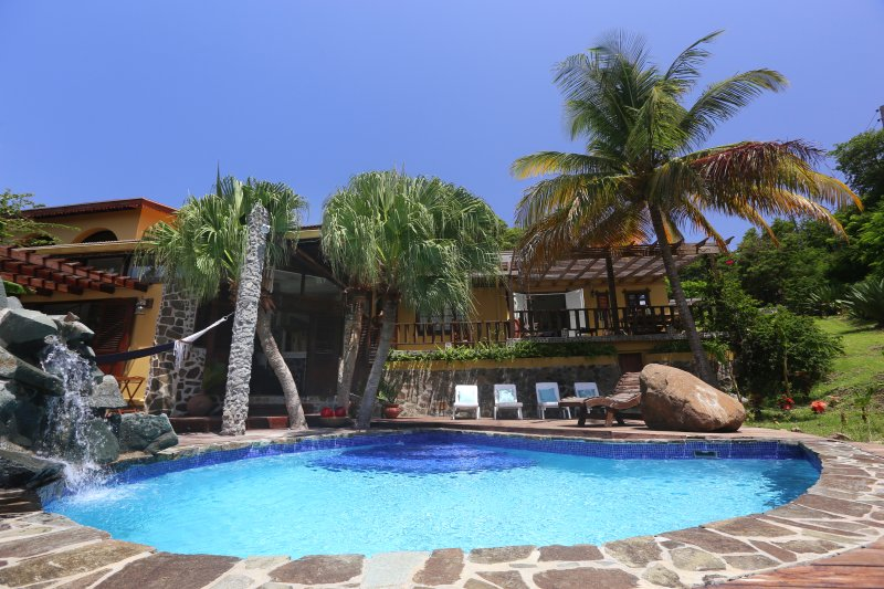 Zatarra House Caribbean Pool Deck - Celebrity Owned  Luxurious Villa & House Retreats - Cap Estate, Gros Islet - rentals