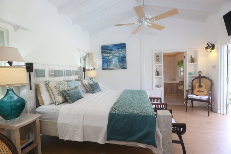 Zatarra House Master Bedroom - Celebrity Villa & House, Sanctuary - Cap Estate, Gros Islet - rentals