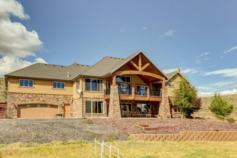 Lavish, secluded home w/game room & patios on 50 acres! - Image 1 - Kamas - rentals