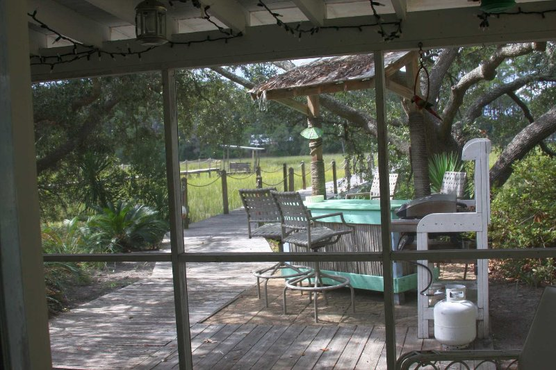 Creek Side Cottage 135 Lewis Avenue - Image 1 - Tybee Island - rentals