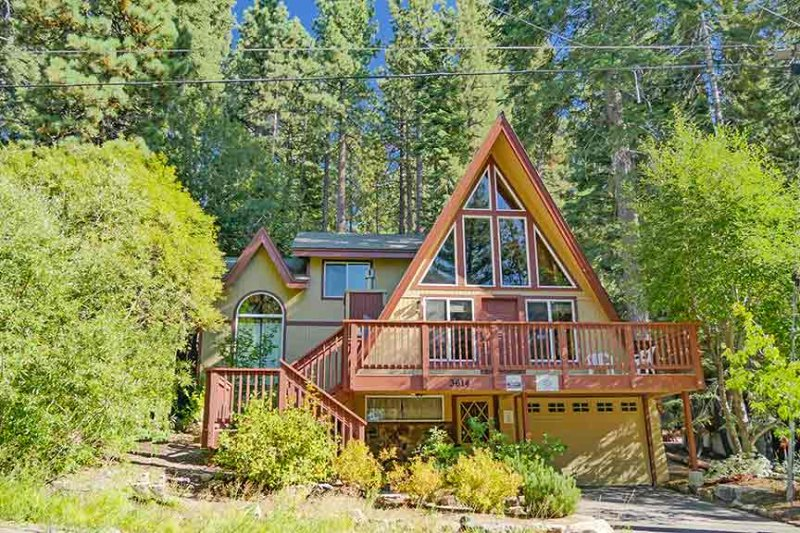Exterior - 3614 Saddle Road - South Lake Tahoe - rentals