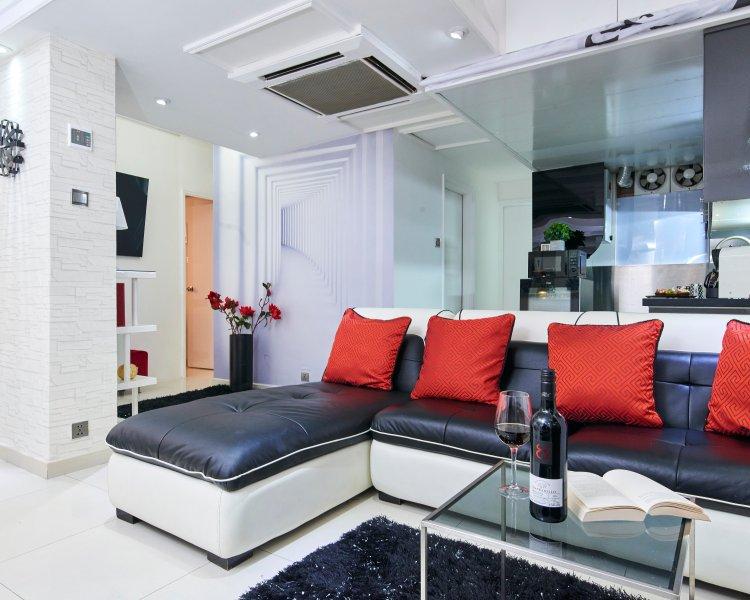 2 nights 15% Off* JORDAN*BEST LOCATION*BIG*CLEAN*3bed2bath*EASY MTR QUIET - Image 1 - Hong Kong - rentals
