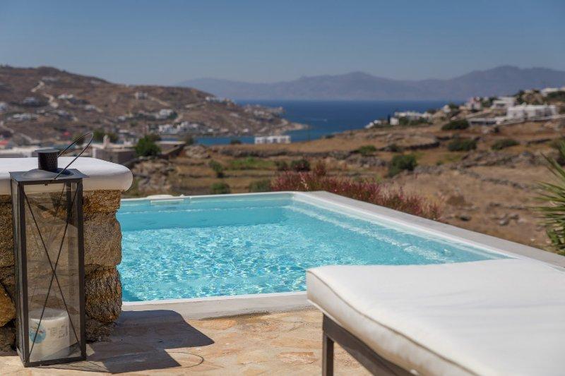 Blue Villas | Astarte | Close To Town - Image 1 - Ornos - rentals