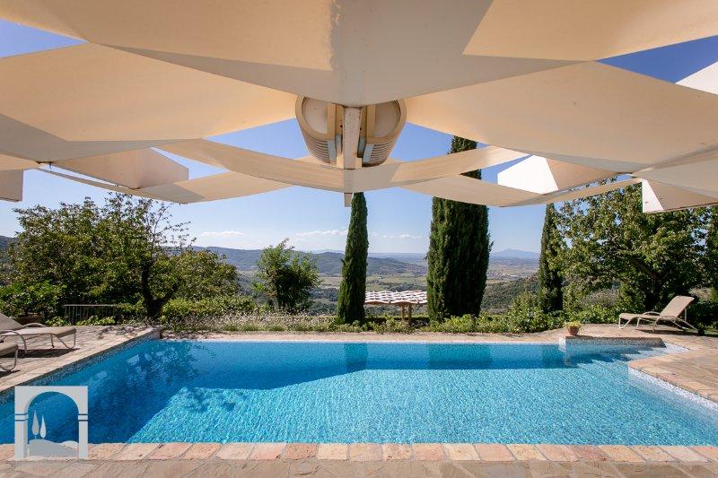 Villa dei Ciliegi: the pool is a dream - Image 1 - Cortona - rentals
