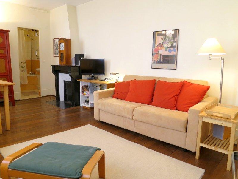 Living room - parisbeapartofit - Rue Saint Sauveur (713) - Paris - rentals