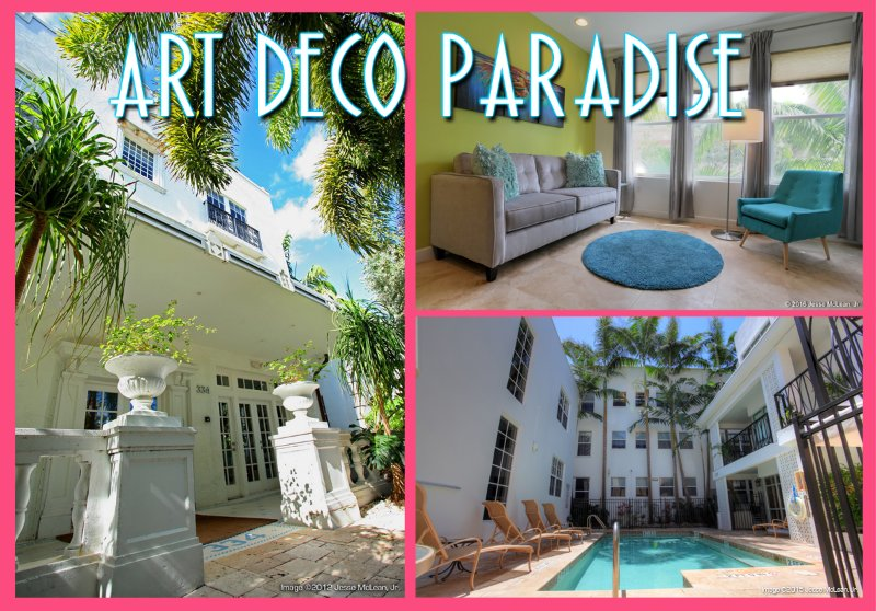 $95/night & up in Paradise! South of 5th Art Deco - Image 1 - Miami Beach - rentals