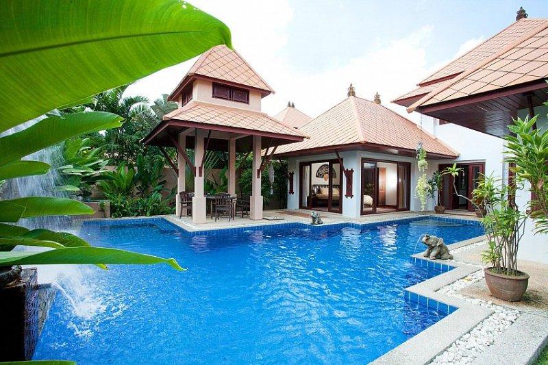 Bali 4 bed villa 800m to Kamala beach - Image 1 - Kamala Beach - rentals