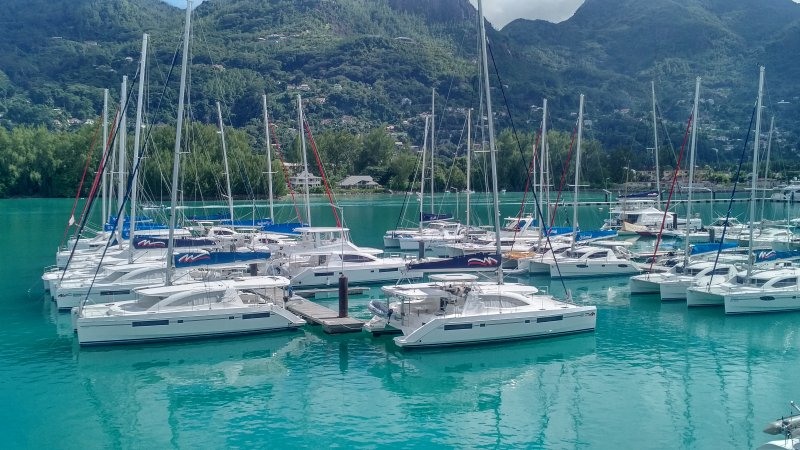 View from Penthouse Apartment on Eden Island Marina - Eden Island Marina Penthouse (165m2) - Eden Island - rentals