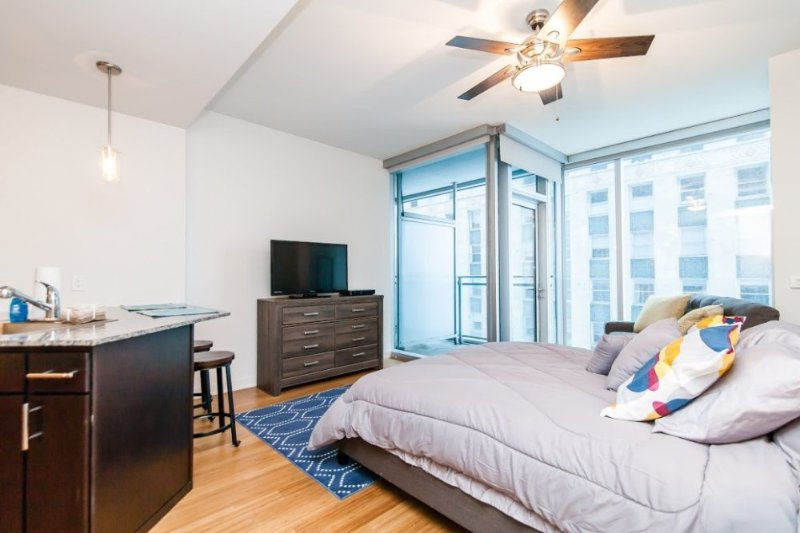 SPACIOUS AND MODERN STUDIO APARTMENT IN CHICAGO - Image 1 - Chicago - rentals