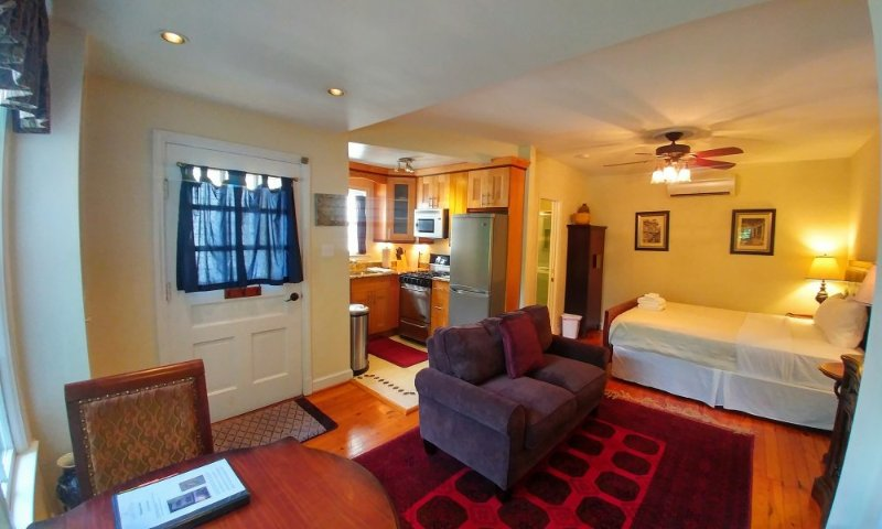 Furnished Studio Apartment at A St NE & Millers Ct NE Washington - Image 1 - Washington DC - rentals