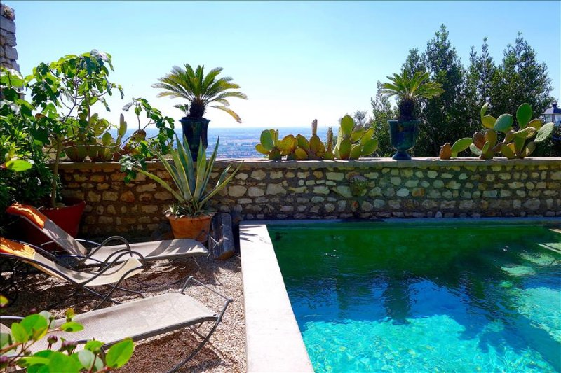 Sermoneta, Stone House with Pool, in a Fairy-Tale Hill-Town Close to Rome and Naples - Image 1 - Sermoneta - rentals