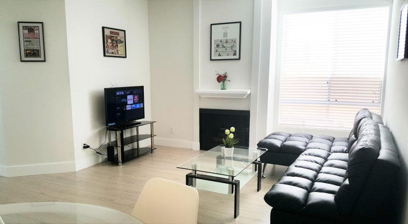 living room - LUXURY 2+2 CONDO-ALL BRAND NEW+WASHER/DRYER in the unit+FREE PKGS+GREAT LOCATION - West Hollywood - rentals