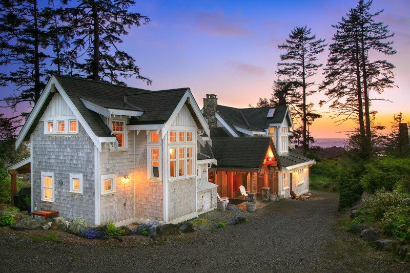 OCEANFRONT BEACH HOUSE - Black Rock Beach House - Image 1 - Ucluelet - rentals
