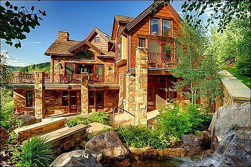 Large Custom Home in The Pines - Stunning Custom Home in The Pines - 5 Master Suites (10354) - Snowmass Village - rentals