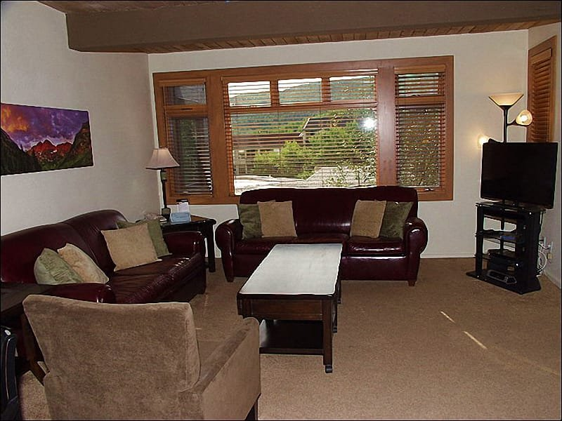 Main Living Area - Close to New Westin Hotel - Walk to restaurants and shops (1318) - Snowmass Village - rentals