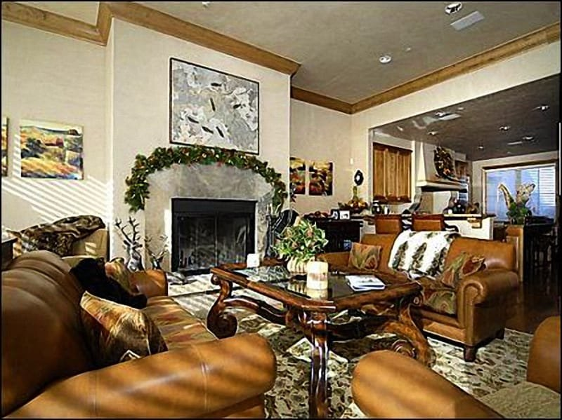 Open Living Area - Owl Creek Town Home - Great Ski-in/SKi-out location (1725) - Snowmass Village - rentals