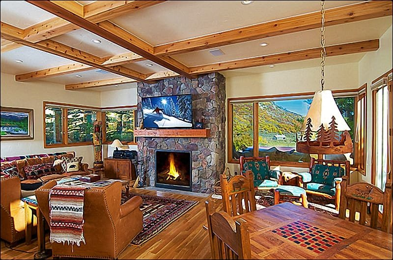 Gathering Room - Perfect Snowmass Vacation Home in the Perfect Location  -  (1806) - Snowmass Village - rentals