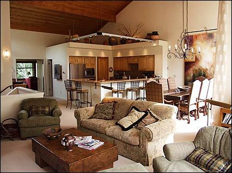 Large, open living area - Country Club Condo - Immaculate beauty! (1840) - Snowmass Village - rentals