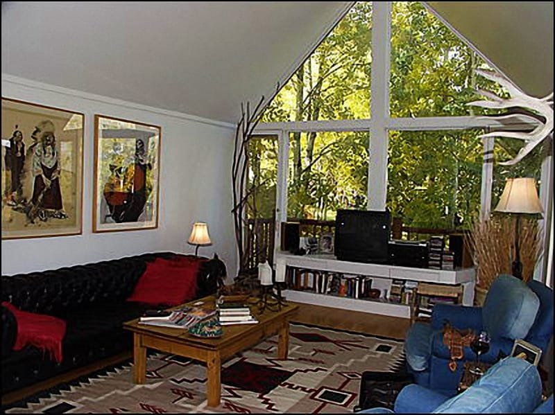 Bright, airy living room - Cozy Ski Chalet - Fantastic Views (1945) - Snowmass Village - rentals