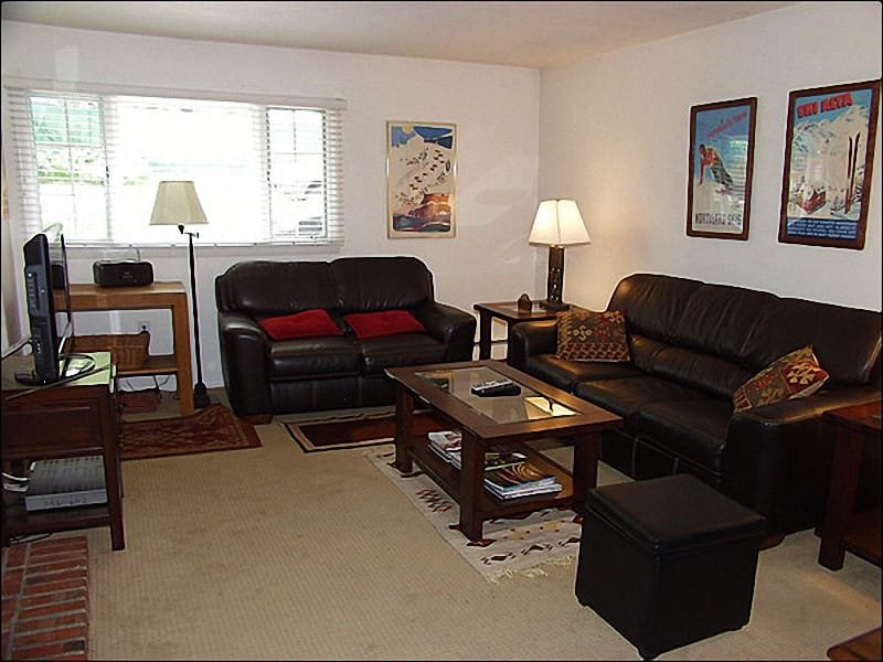 Large, open living area - Value Lodging - Quiet Location (4273) - Aspen - rentals