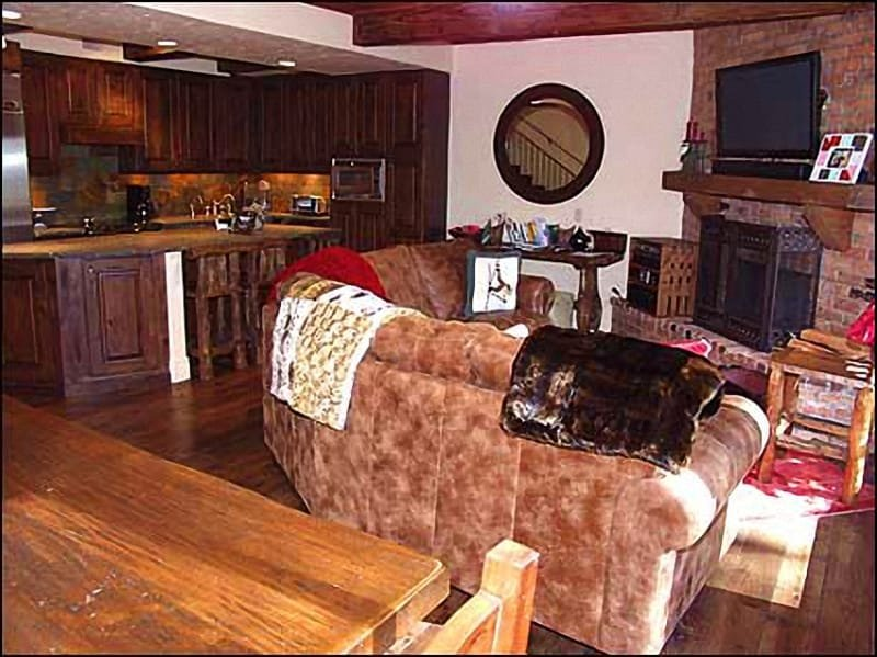 Cozy Living Area - Walk to Gondola - On Roaring Fork River (4565) - Aspen - rentals