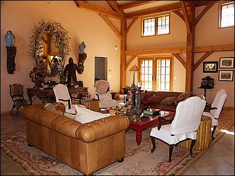 Large, open living room - Unique Home on 2 Acre Lot - Warmth and Ambiance (5289) - Aspen - rentals
