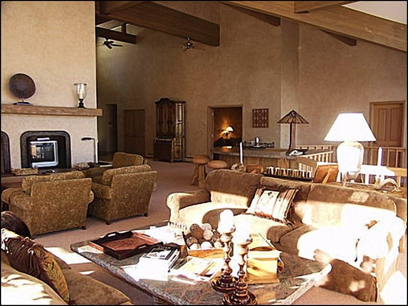 Large Living Room - Central Aspen Executive Home - 3 Master Suites (7543) - Aspen - rentals
