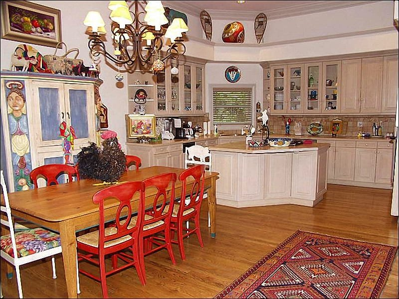 Large Kitchen and Dining Area - Classic West End Home - True Aspen Charm (7808) - Aspen - rentals