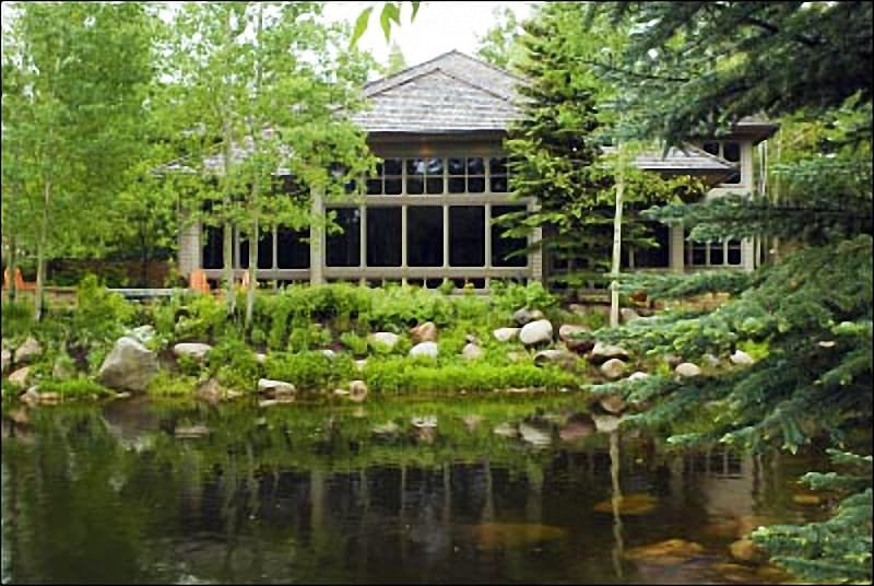 Large home with pond and a view - Contemporary decor with open living plan - Gourmet Kitchen (8298) - Aspen - rentals