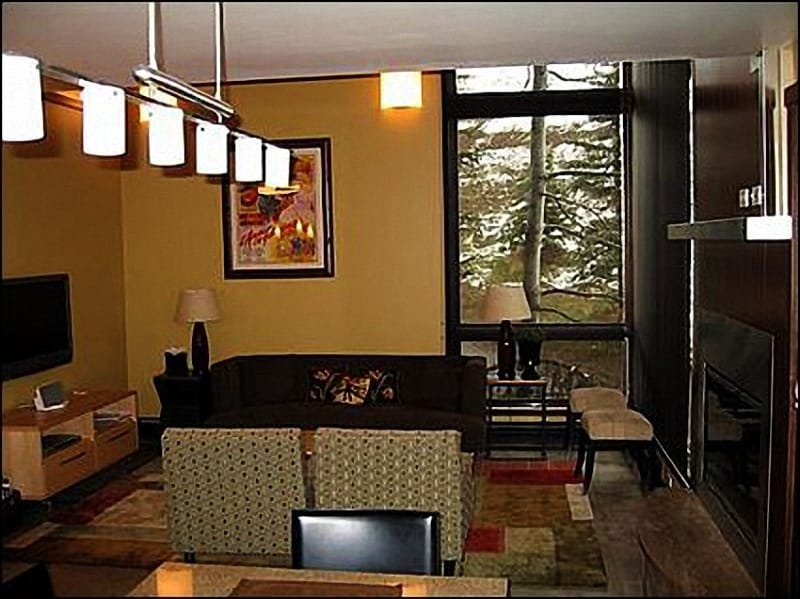 Living room with views - On Mountain Beauty - Convenience, Views, Comfort (8110) - Aspen - rentals