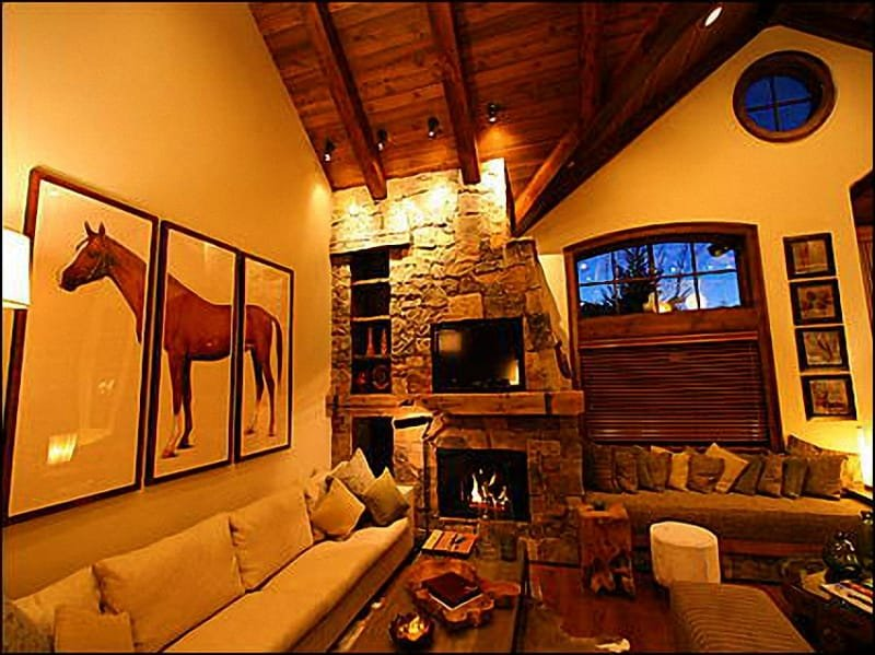 Family Room - Brand New Residence - Ski-in/Ski-out (9647) - Snowmass Village - rentals