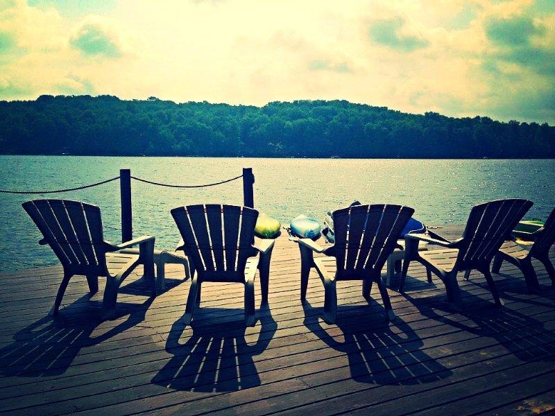 LAKEFRONT w/private dock! Gorgeous Views #1207 - Image 1 - Lake Ariel - rentals
