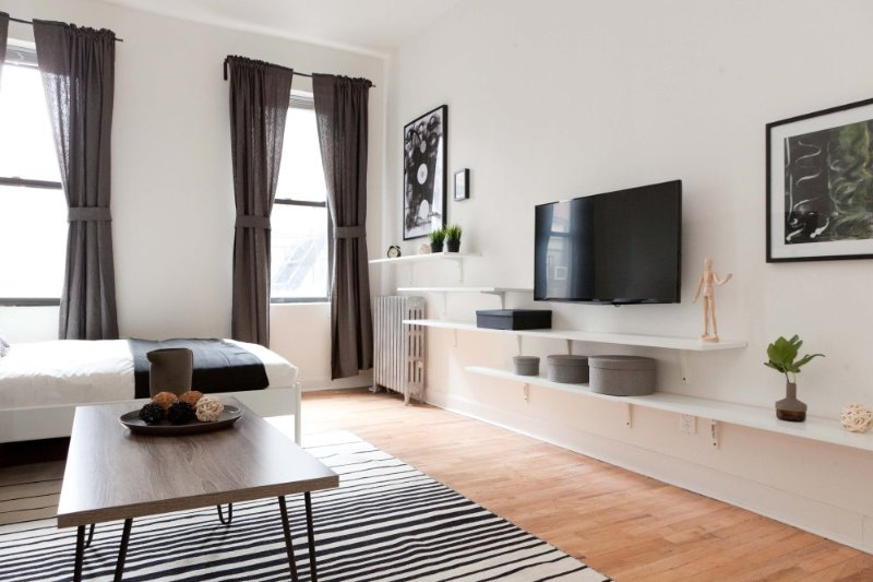 Furnished Studio Apartment at 2nd Ave & E 14th St New York - Image 1 - Catskill Region - rentals