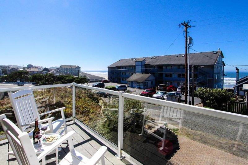Upscale home w/ hot tub, beach access & views! - Image 1 - Newport - rentals