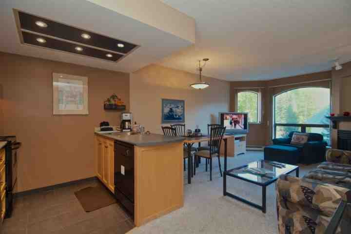 Comfortable bright open plan - Top Floor Beautiful Marquise 1 Bedroom Condo - Whistler - rentals