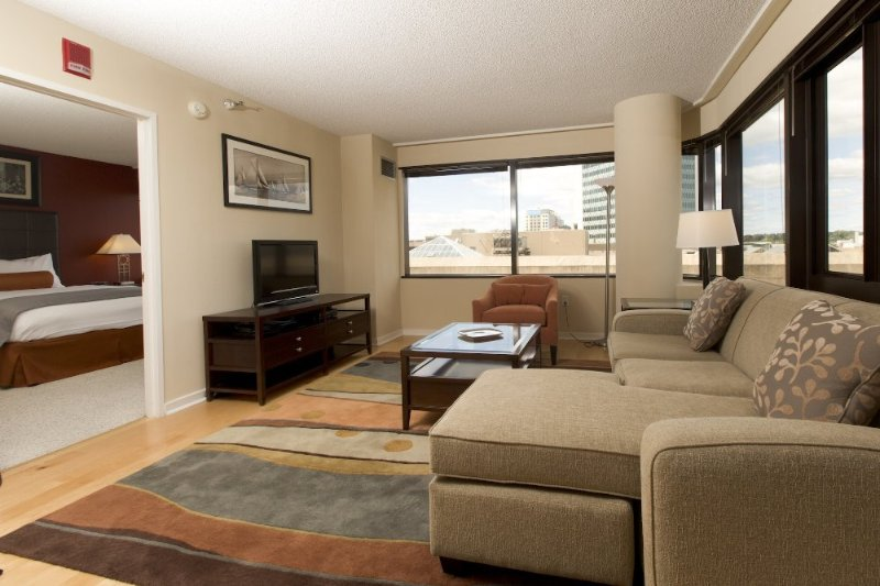 Furnished 1-Bedroom Apartment at Greyrock Pl & Main St Stamford - Image 1 - Stamford - rentals