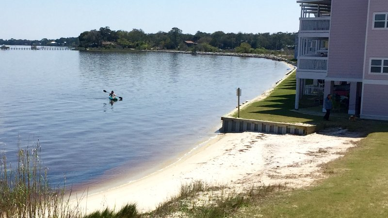 "Perfect water views!  - ""Happy Place"" Waterfront Beach Home, Close to Pool, Use Our 2 Kayaks and 1 SUP - Perdido Key - rentals"