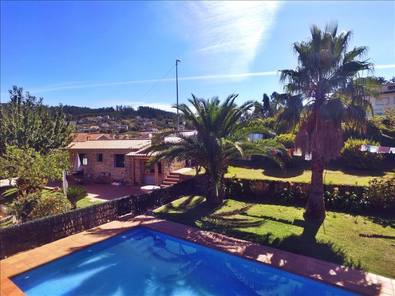 Cozy holiday home with swimming pool near the beach - Image 1 - Poio - rentals
