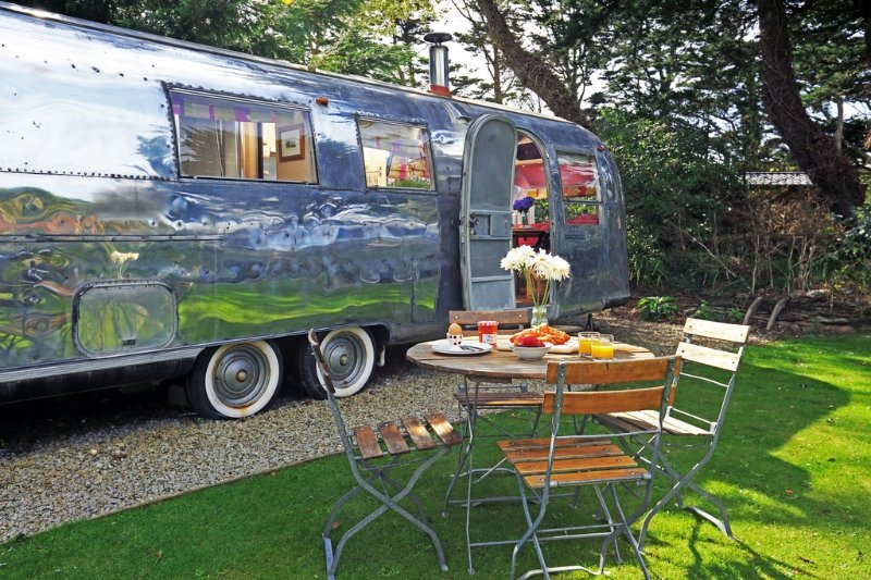 Kara, Airstream, The Park  located in Newquay, Cornwall - Image 1 - Newquay - rentals