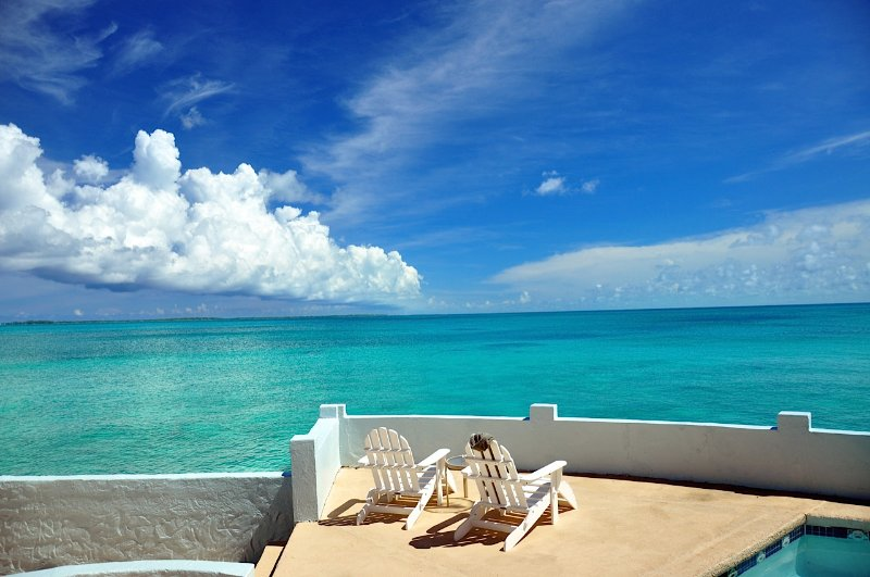 The magnificent view from Water's Edge - TOTAL PRIVACY, LUXURY OCEANFRONT VILLA with POOL - Nassau - rentals